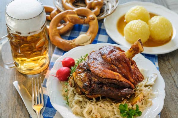 Bavarian food and beer