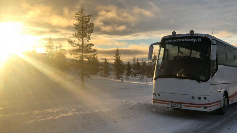Travel to Finland with Coach Hire Helsinki
